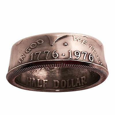 MAGIC: Genuine Half-Dollar Ring(11.5/20.98 mm)By Diamond Jim Tyler - Trick