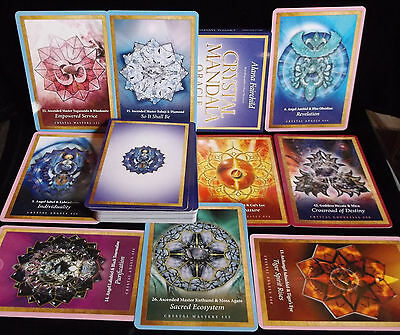 Sealed Brand New! Crystal Mandala Card & Book Oracle Angels & Ascended Masters