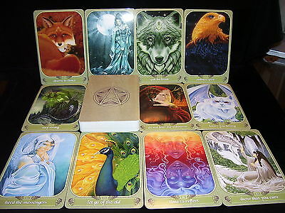 Sealed Brand New! Messenger Cards & Book Oracle Dragons Mystical Trees & Animals