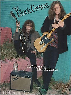 Black Crowes Rich Robinson Jeff Cease Fender Telecaster Vibro Amp pinup photo