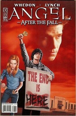 Angel: After The Fall #8 - VF- - Miller Cover