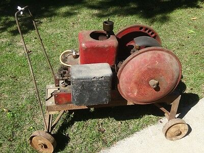 1923 Fairbanks Z hit miss gas engine original condition batter coil 1.5 hp dishp