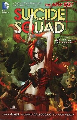 Suicide Squad TP Vol 01 Kicked In The Teeth (Paperback), Glass, A. 9781401235444
