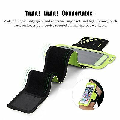 Mpow iPhone 6 Sports Armband Sweatproof iPhone 7 6 6S Armband for Running with