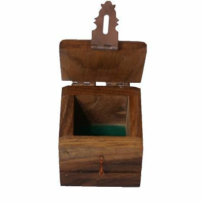 Ring Box (wood) by Premium Magic - Trick