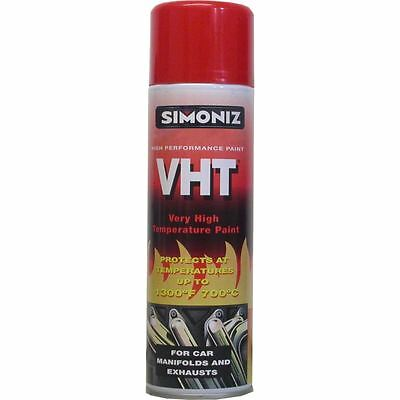 Simoniz VHT Very High Temperature Red Paint Engine Calipers Manifold Exhaust