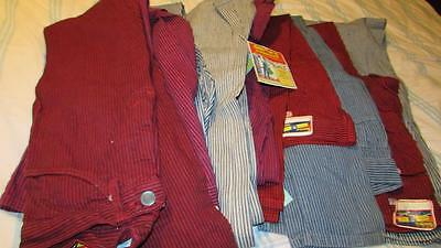 Vintage Smiths Jeans Brooklyn Overalll Co. New York Waist 27 Original Tags