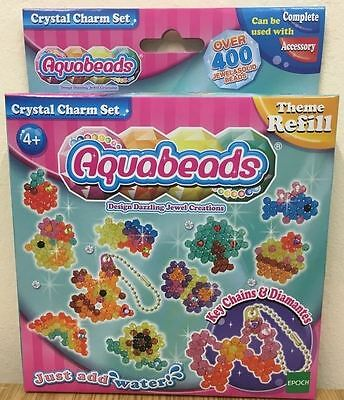 Aquabeads Just Add Water - Crystal Charm Set - 79288 - New