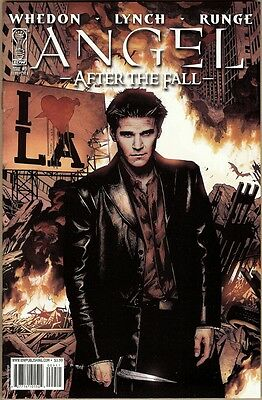 Angel: After The Fall #9 - VF - Runge Cover