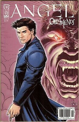 Angel: Old Friends #1 - FN/VF - Rodriguez Cover