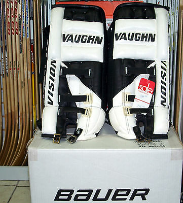 Vaughn Vision VPG 660 Youth Goalie Pads - MADE in CANADA!
