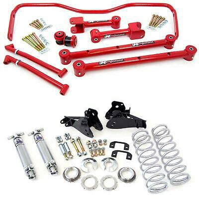 UMI 65-72 Chevelle Malibu A-Body Rear Control Arms, Coilovers & Sway Bar Kit