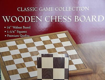 Chess Board - Inlaid Timber Construction