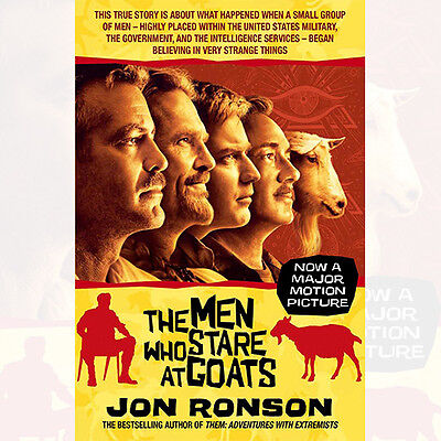 The Men Who Stare At Goats Book By Jon Ronson Paperback 978-0330507707
