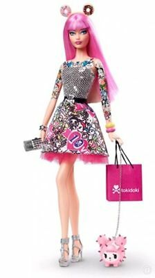 The Barbie 10 Anniversary Love Tokidoki Black Label Collection  New