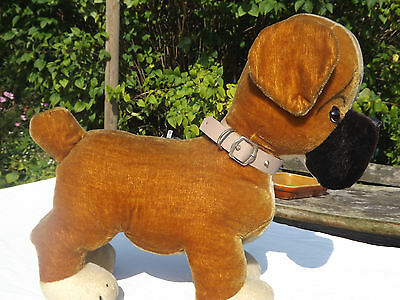 A Large Merrythought Boxer Dog c.1950. Great Condition.
