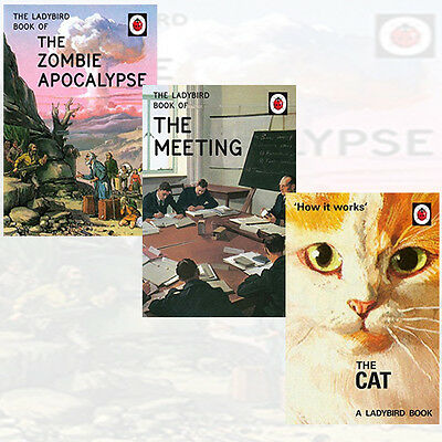 How it Works The Cat,Ladybird Book of the Meeting Collection 3 Books Set New