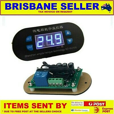12v BEER FRIDGE THERMOSTAT FREEZER AUTOMATIC TEMPERATURE CONTROLLER 10A