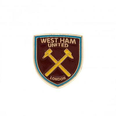 West Ham United Fc Utd Badge Metal Lapel Pin