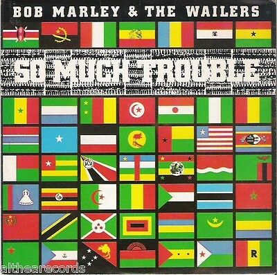 "BOB MARLEY & THE WAILERS - So much trouble - 7"" MINT"