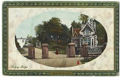 DUNDEE Balgay Lodge, Postcard by Tuck Postally Used 1911