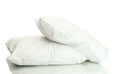 Goose Feather & Down Pillow Pair, Olivia Rocco Hotel Soft White Pillows, 2 Pack