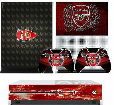 arsenal xbox one S skins decals stickers  + 2 controllers game