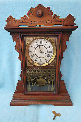 Large Antique Seth Thomas Shelf Clock For Restoration