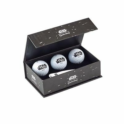 TaylorMade Star Wars Small Golf Gift Box GOLF Balls Divot Tool