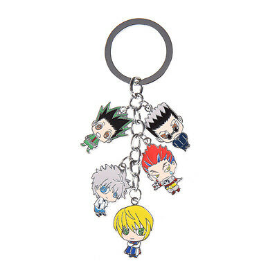 Japanese Anime Hunter X Hunter Keychain Killua Gon Freecss Pendant Accessories