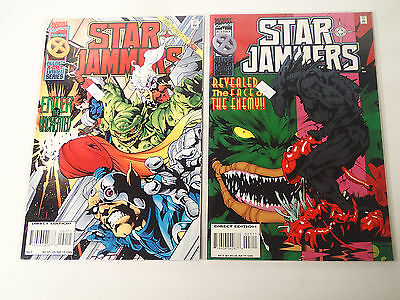 STAR JAMMERS lot of 2 issues #2 & 3  Marvel Comics 1995 VF X-Men Limited Series