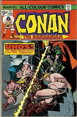 Conan The Barbarian #51 - VF