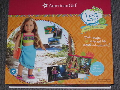 NEW American Girl 2016 LEA CLARK STORE EXCLUSIVE~Pink Sarong Wrap Turtle Craft+