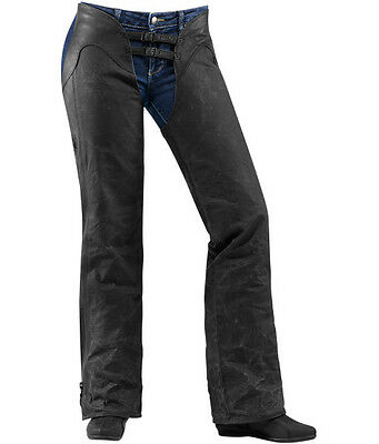 Icon Women's 1000 Hella Leather Chaps #