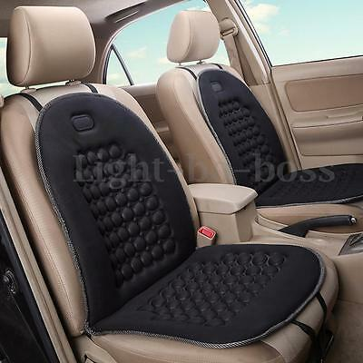 AU Black Car Seat Cushion Therapy Massage Padded Bubble Foam Chair Pad Cover