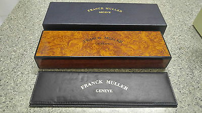 Used Franck Muller Long Watch Box