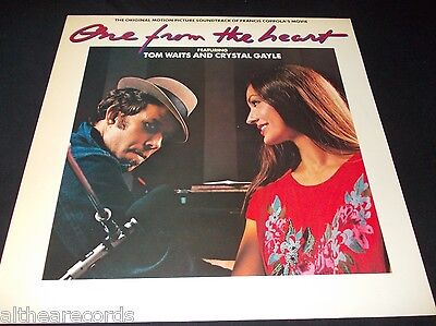 TOM WAITS AND CRYSTAL GAYLE - One from the heart - LP OST MINT