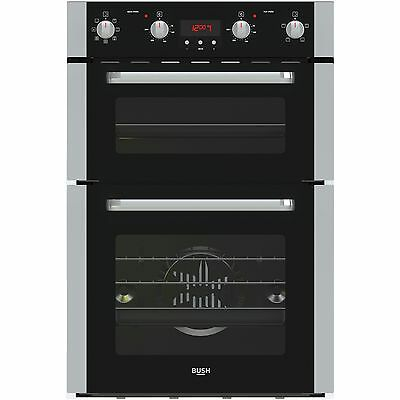 Bush BDOMFF Double Built In Oven - Black. From the Official Argos Shop on ebay