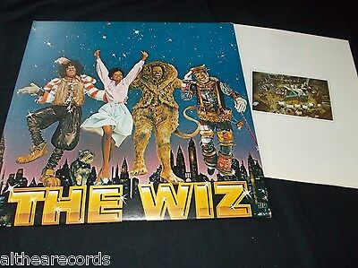 V.A. - The wiz - 2LP OST MINT + BOOKLET