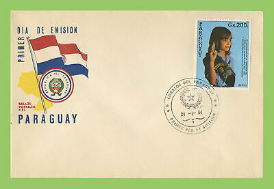 Paraguay 1984 Girl Guides First Day Cover