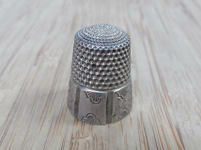 Sterling Silver Vintage #10 Thimble ~ 5.8grams ~ 17-I3569