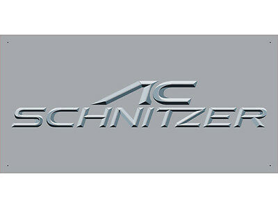Advertising Display Banner for Schnitzer Sales Service Parts
