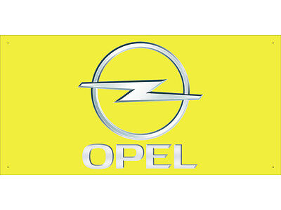 Advertising Display Banner for OPEL Sales Service Parts