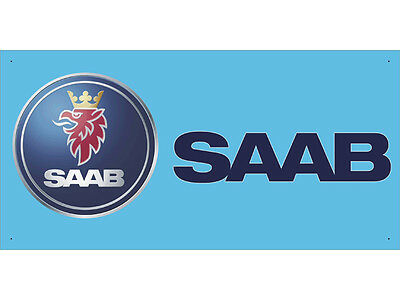 Advertising Display Banner for SAAB Sales Service Parts