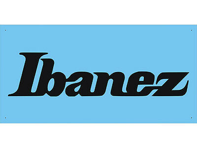 Advertising Display Banner for Ibanez Shop