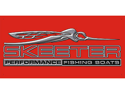 Advertising Display Banner for Skeeter Performance Fishing Boats