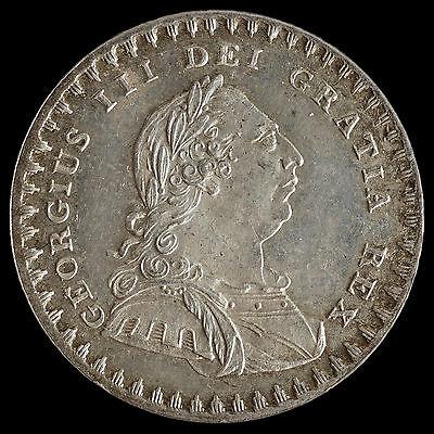 1811 George III Silver Eighteenpence Bank Token – UNC