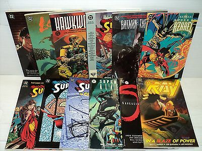 DC TPB SET! Sword of Azrael, World Without Superman, more! 12 comics (bd11070)
