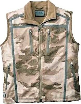 Cabela's Alaskan Guide Windproof & Waterproof Outfitter Camo Silent Hunting Vest