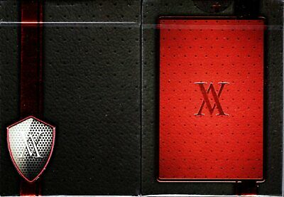 Red Verve Deck Playing Cards Poker Size USPCC Custom Limited Edition Sealed New